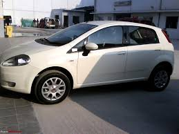 my white fiat punto mjd team bhp