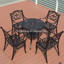 Metal Garden Table And Chairs Waterproof Outdoor Furniture Waterproof Outdoor Furniture
