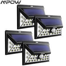 driveway motion sensor light mpow 24led solar powered lights outdoor driveway l wireless