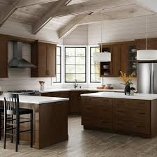 home depot kitchen wall cabinets with glass doors hton bay designer series soleste assembled 36x30x12 in