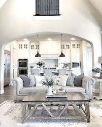 Kitchen And Living Room Designs Living Room Design Living Room Arch Grey Rooms Ideas Decor