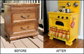 play kitchen from furniture turn an nightstand into a play kitchen diy projects for