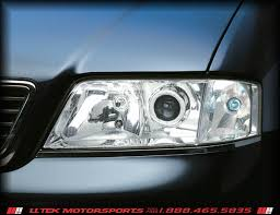 audi a6 s6 hid xenon headlights lighting options and upgrades
