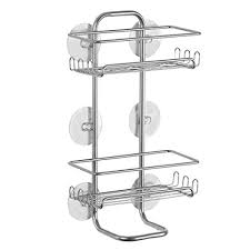 Bathroom Suction Shelves Interdesign Classico Suction Bathroom Caddy Shower