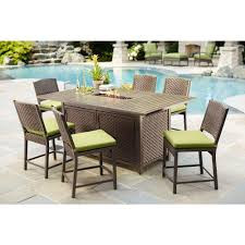 High Patio Dining Set Hton Bay Carol 7 Balcony High Patio Dining Set S7