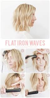 hair style ideas with slight wave in short mapping out flat iron waves flat iron waves flat iron and iron