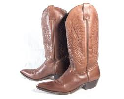 womens brown cowboy boots size 9 vtg 90 s pecan brown leather cowboy boots size 9 womens seychelles