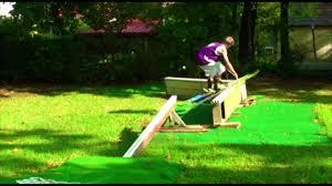 dan dougherty summer backyard dry slope skiing entry youtube