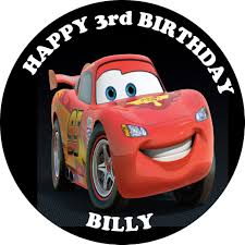 cars cake toppers cars lightening mcqueen edible cake topper