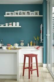 cuisine couleur mur peinture murale verte idées mur couleur cuisine îlot de cuisine