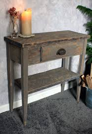 Narrow Hallway Furniture by Small Entry Table Gray Wood Sofa Table Gray Reclaimed Wood