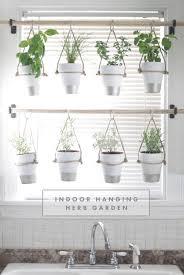 window herb gardens diy indoor hanging herb garden learn how to make an easy budget