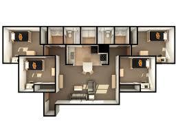 floor plan layout davis housing residential