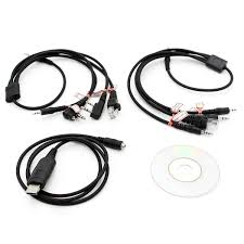 8 in 1 usb programming cable for motorola kenwood baofeng mobile