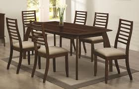 stanley 5pc dining set by coaster in cappuccino w options