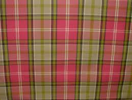 Pink Tartan Curtains Pink And Lime Curtain Fabric Functionalities Net
