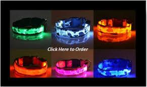 Light Up Dog Collar Light Up Dog Collars Led