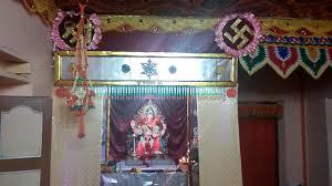 ganpati decoration at home 2016 sawantwadi nemle youtube