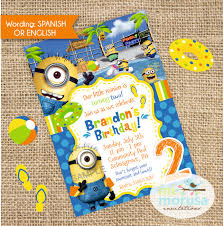diy minion invitations minion party invitations contemporary invitation card