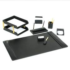 Modern Desk Set Modern Desk Pad Large Leather Desk Mat Modern Leather Desk Set