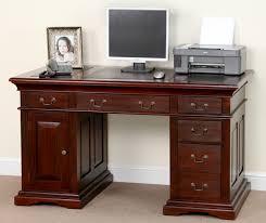 Traditional Computer Desks Mahogany Computer Desks For Home Intended Desk Decor 3