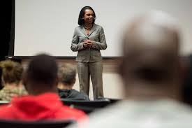 Washington Secretary Of State Legacy by Former Secretary Of State Condoleezza Rice Speaks At Redskins Team