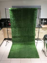 wedding backdrop grass here s how i created my artificial grass backdrop from my