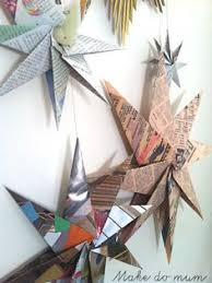 quick and easy origami star ornament to make x mas pinterest