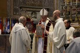 pope francis at the restoration thanksgiving jesuits in britain