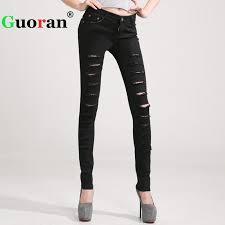 Plus Size Ripped Leggings Online Get Cheap White Jeans Leggings Aliexpress Com Alibaba Group