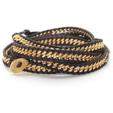 gold chain bracelet with leather images 80 best wrap bracelets images beaded wrap bracelets jpg