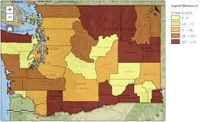 State Of Washington Map by Tracking Program Maps Radon Exposure In Washington State Blogs