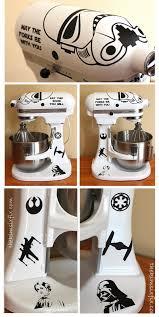 kitchen aid mixer custom star wars stormtrooper kitchen aid stand mixer tutorial