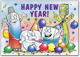new year s postcards new years party customizable postcard smartpractice dental