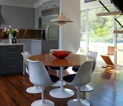 white mid century dining table mid century dining chairs for some retro flair to your dining space