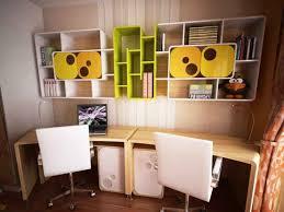 contemporary executive desk children room study table cabinet