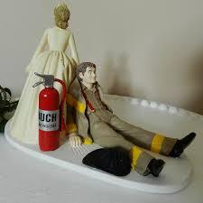 fireman wedding cake toppers fireman firefighter wedding cake topper by coloradocarla