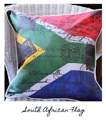 Aftican Flag South African Flag Cushion Cushi