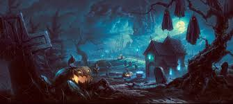 halloween photo backgrounds happy haunted halloween high res desktop background follow9 com