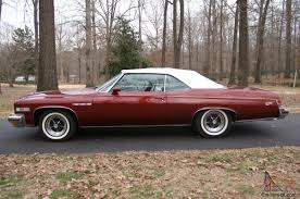 1975 buick opel buick lesabre custom convertible with 455 ci engine