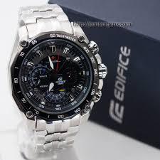 Jam Tangan Casio jam tangan casio edifice ef 550 silver black jual jam tangan