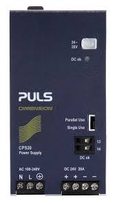 puls products cps20 241 din rail power supplies for 1 phase