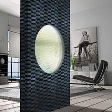 Interior Waterfall Design by This Glass Waterfall Acts As A Soothing Yet Elegant Room Divider