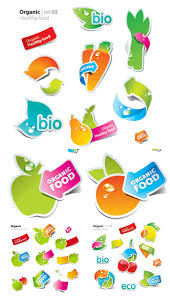 Healthy Food Stickers Vector Vector Graphics Blog