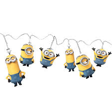 string lights minions star wars despicable me minions kids bedroom