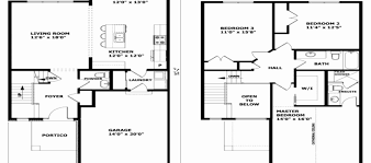 modern two story house plans two story house floor plans unique simple two story house modern