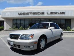 lexus ls las vegas 1998 lexus ls sedan for sale 112 used cars from 2 481