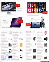 apple black friday sale 2009 ad leaked see the details updated