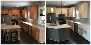 Custom Painted Kitchen Cabinets Cincinnati Cabinet Painting Upgrade Existing Kitchen Cabinets