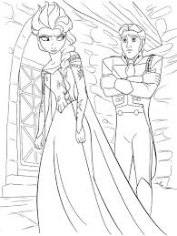 disney princess coloring pages frozen walt disney coloring pages queen elsa prince hans walt disney